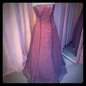 De Laru Collection Dresses - NWT De Laru Prom Dress strapless sz 5/6 grey/pink